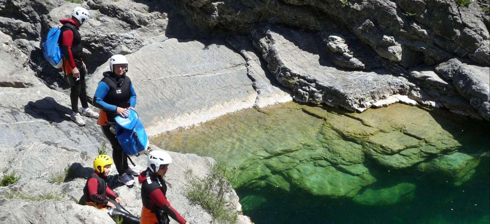 Voyage sur l'eau : France : Canyoning et Mont Perdu