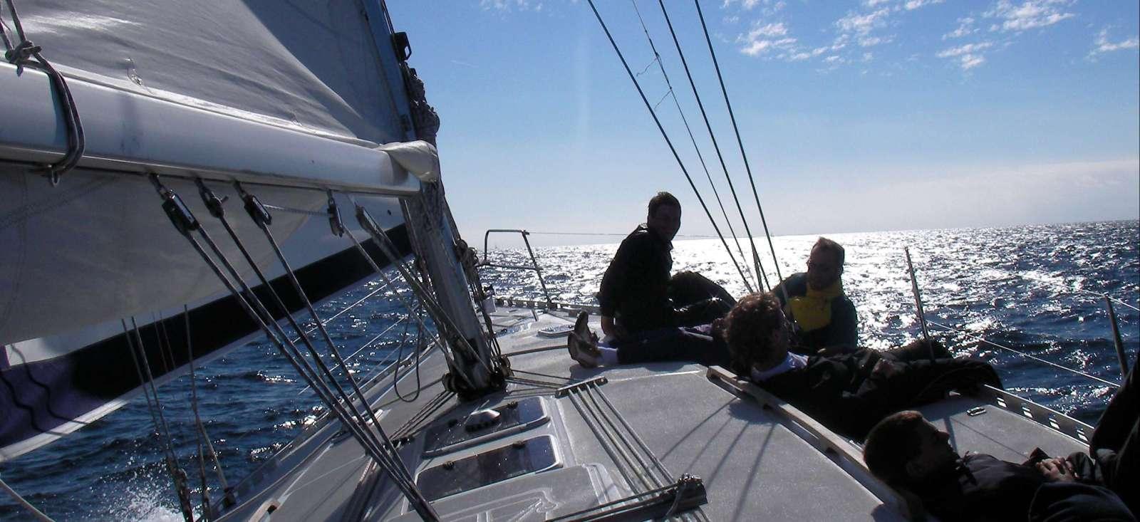 Voyage sur l'eau : L\'Ascension à la voile !