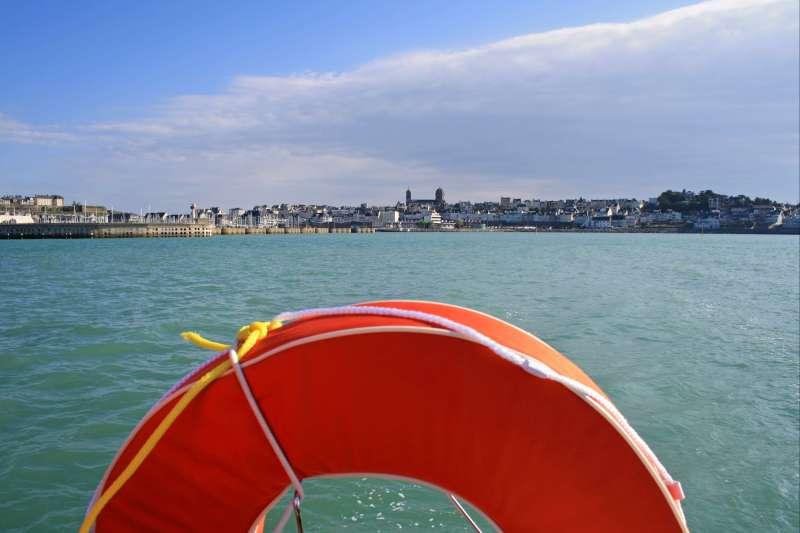 Image Cap sur Jersey en voilier !