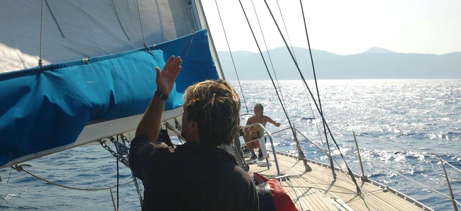 Voyage sur l'eau : L\'aventure corse à la voile (côtes nord) !