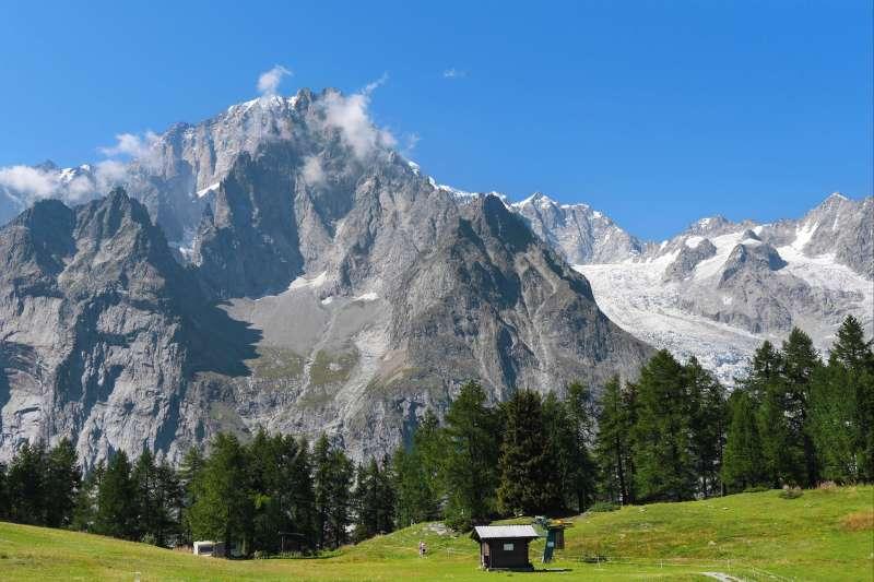Image Le tour du Mont Blanc (en bivouac)