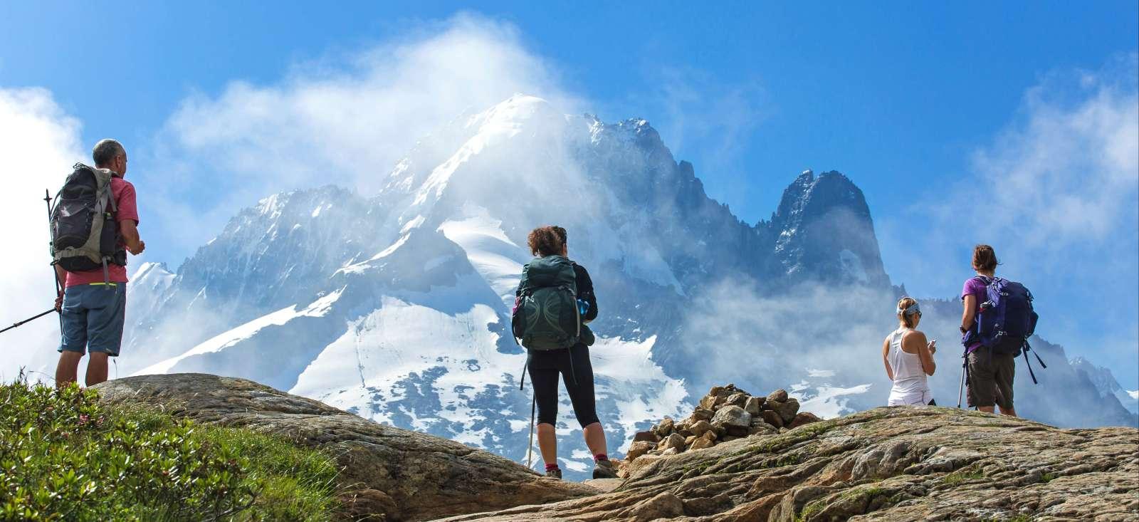 Voyage à pied : Le tour du Mont Blanc (classique)