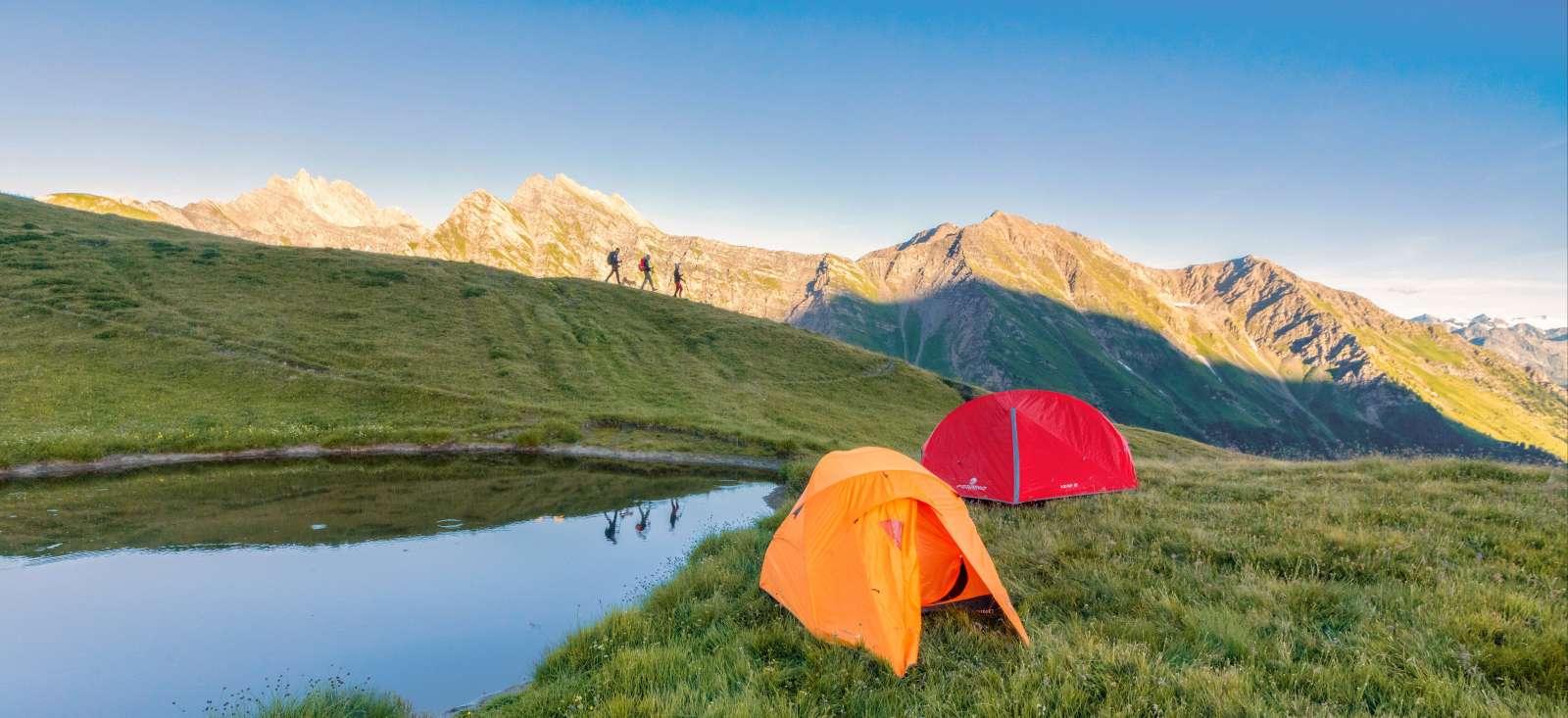 Voyage à pied : Le tour du Mont Blanc (en bivouac)