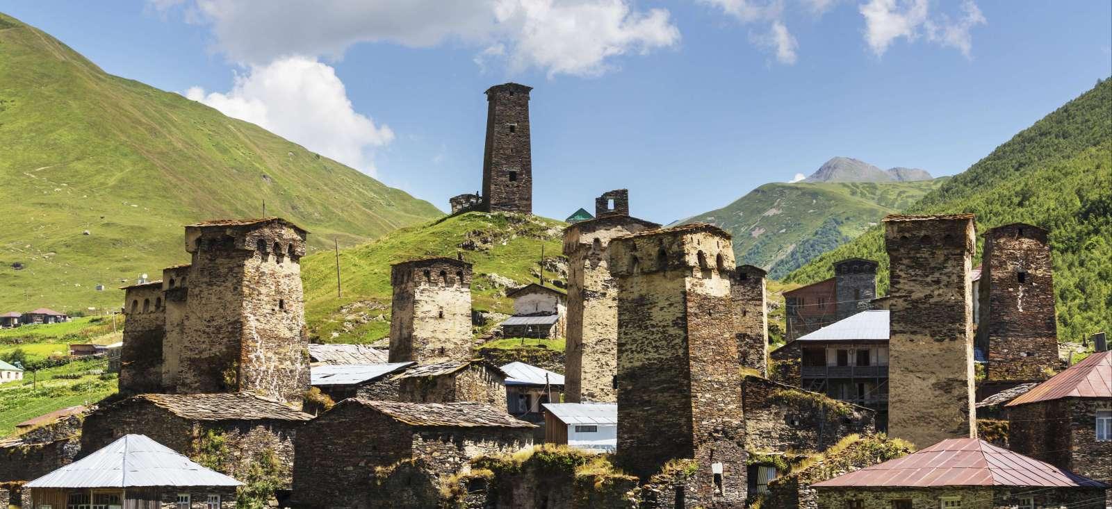 Voyage à pied : Trek aux confins du Caucase...