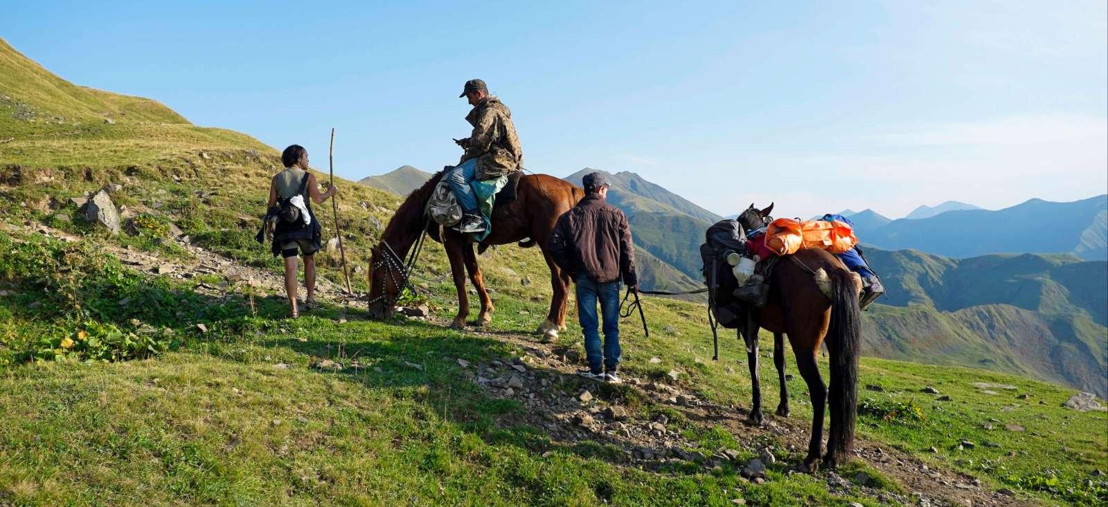 Voyage avec des animaux : La Touchétie à cheval, ça touche forcément !
