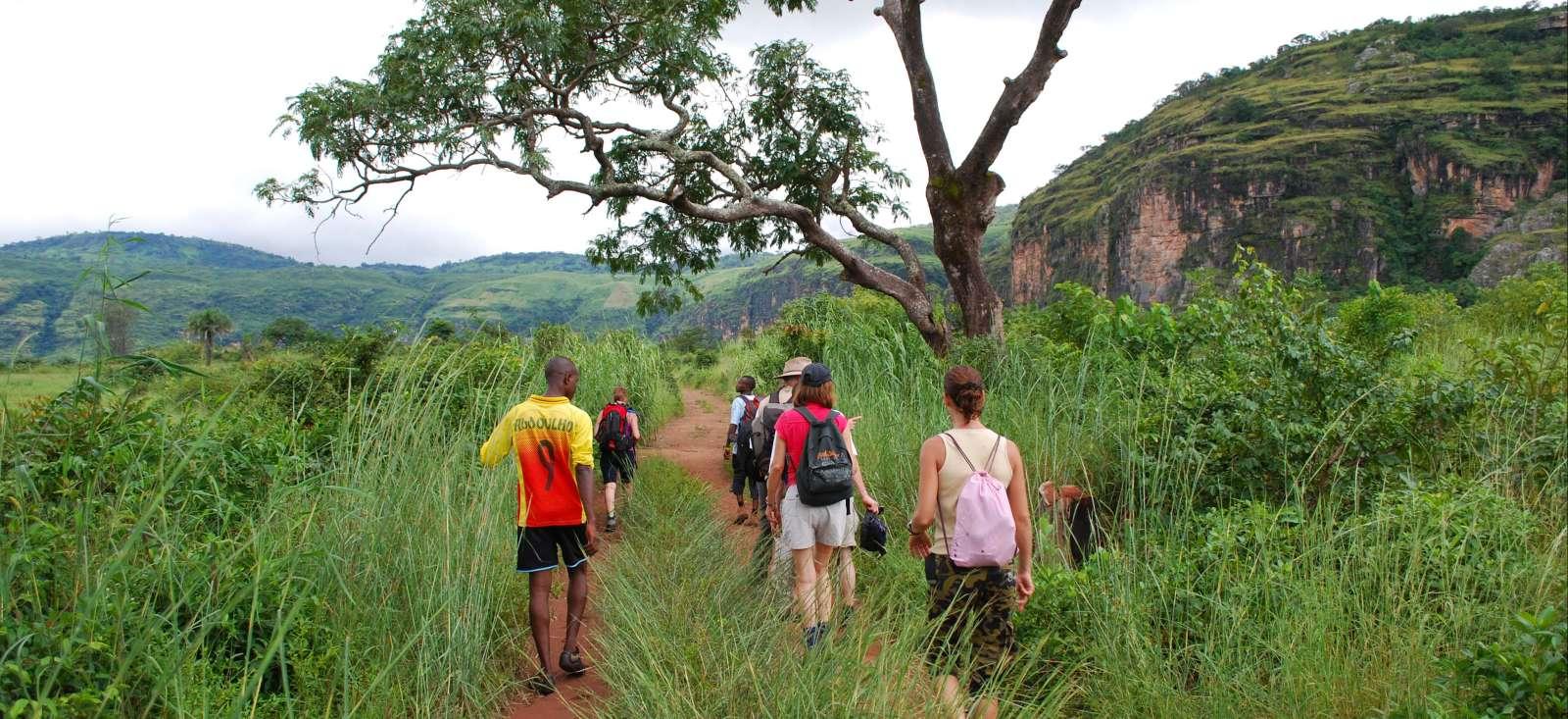 Voyage à pied : Sous le regard de la Dame de Mali