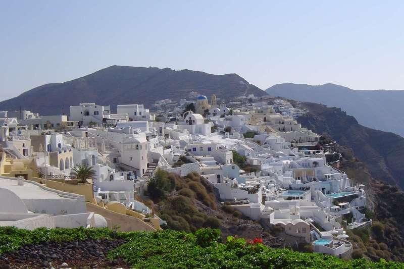 Voyage à pied : Santorin et Naxos : Lumière des Cyclades