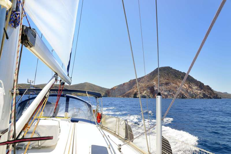 Voyage sur l'eau : Croisière active Santorin-Santorin !