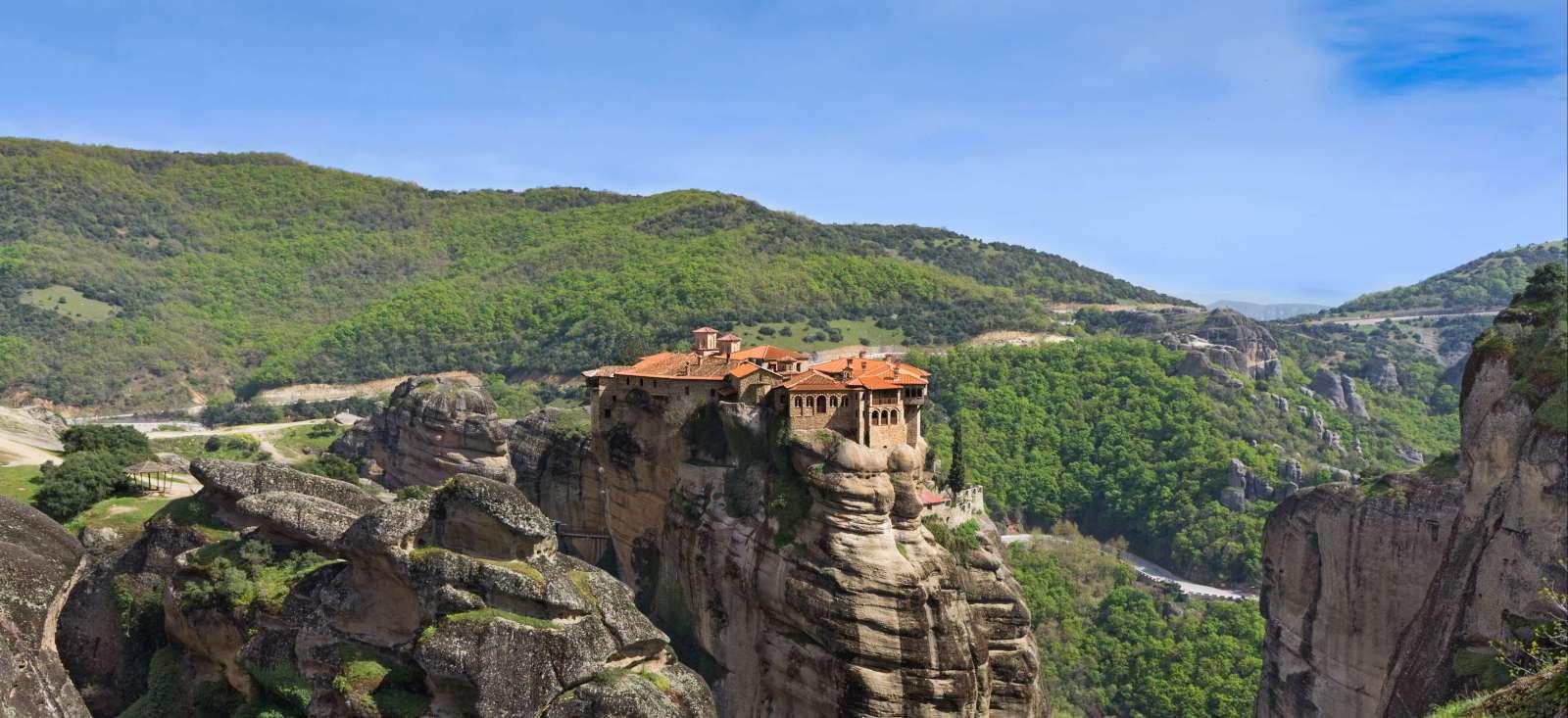 Voyage à pied : Les Météores et le Mont Olympe
