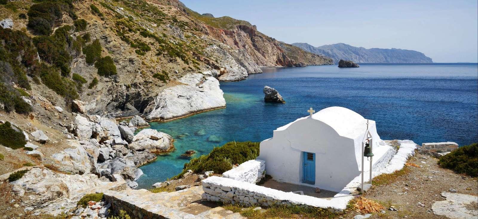 Voyage à pied : Un, deux, trois...îles grecques