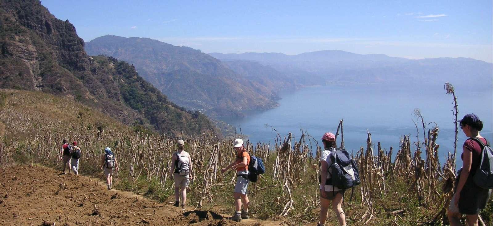 Voyage à pied Guatemala : Trek Maya