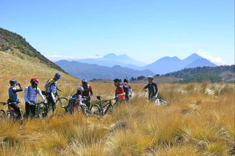 Image Le Guatemala à vélo