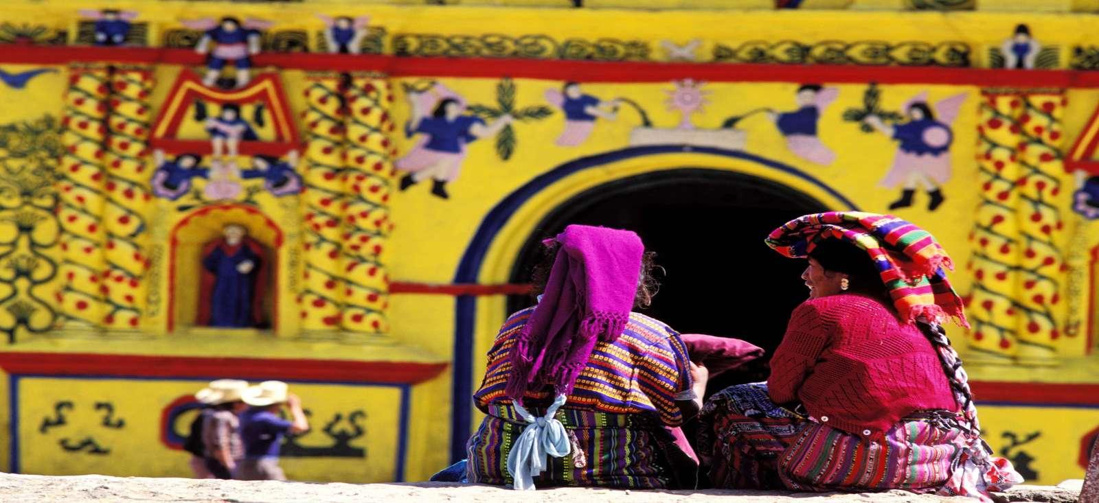 Voyage à pied : Escapade Maya