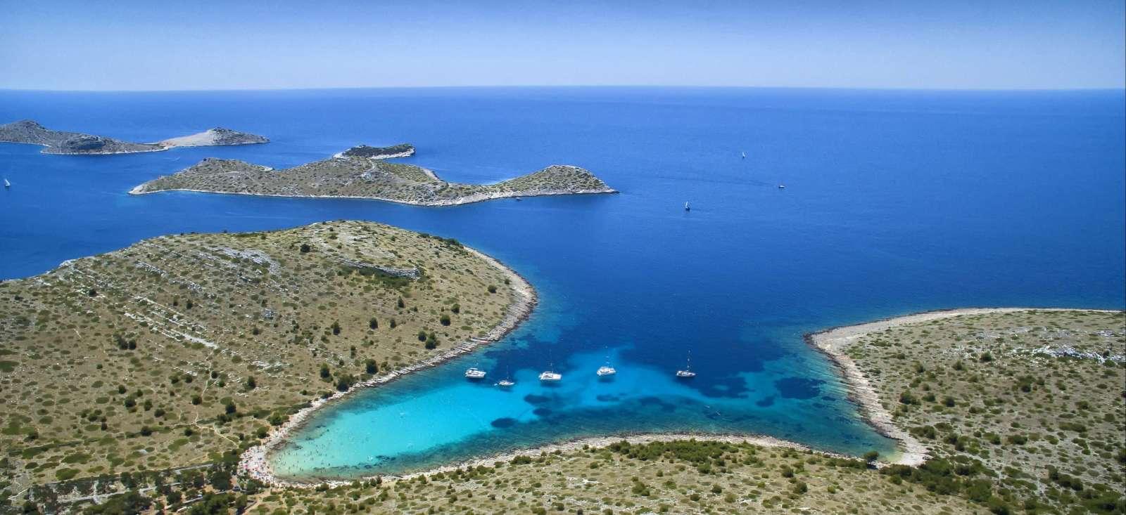 Voyage sur l'eau Croatie : L\'archipel des Kornati en kayak de mer