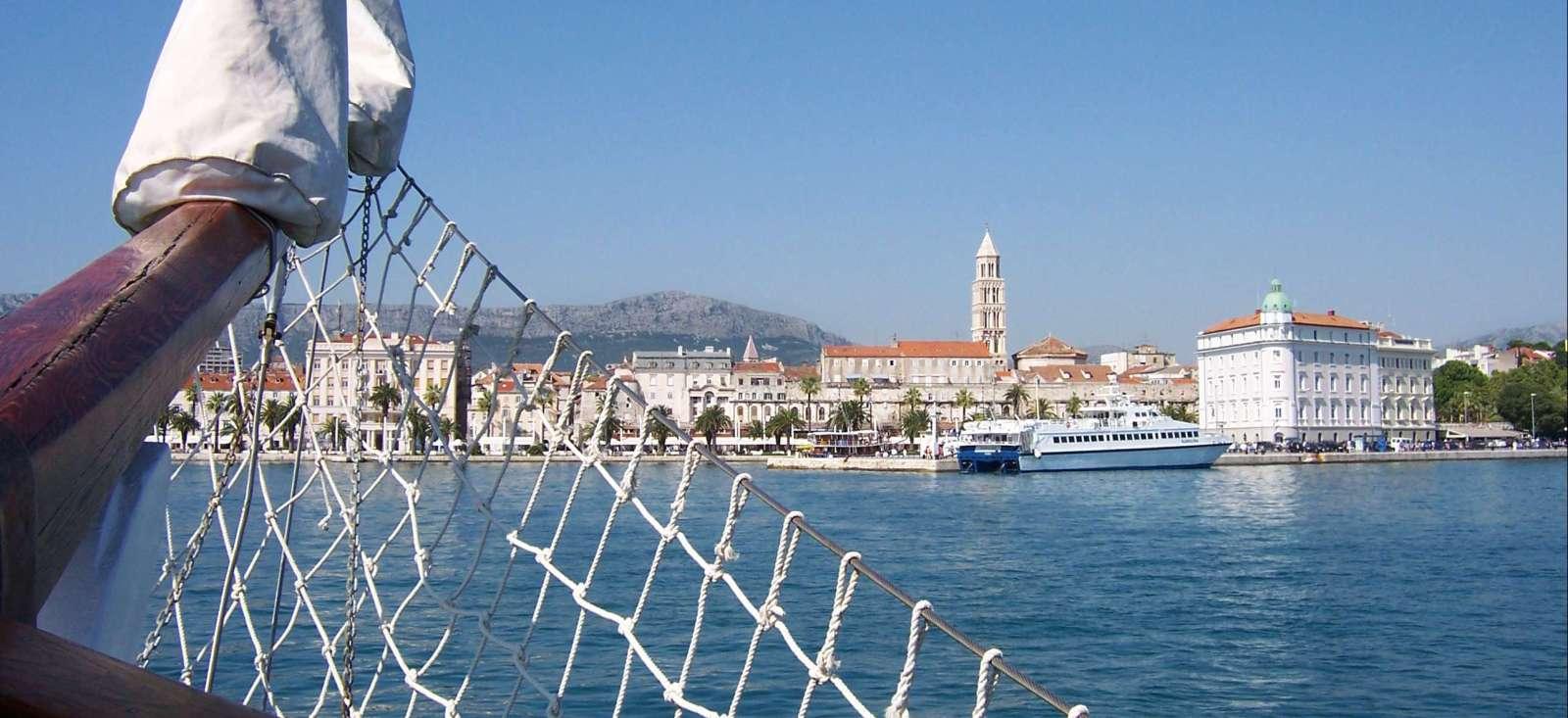 Voyage sur l'eau Croatie : Merveilles dalmates