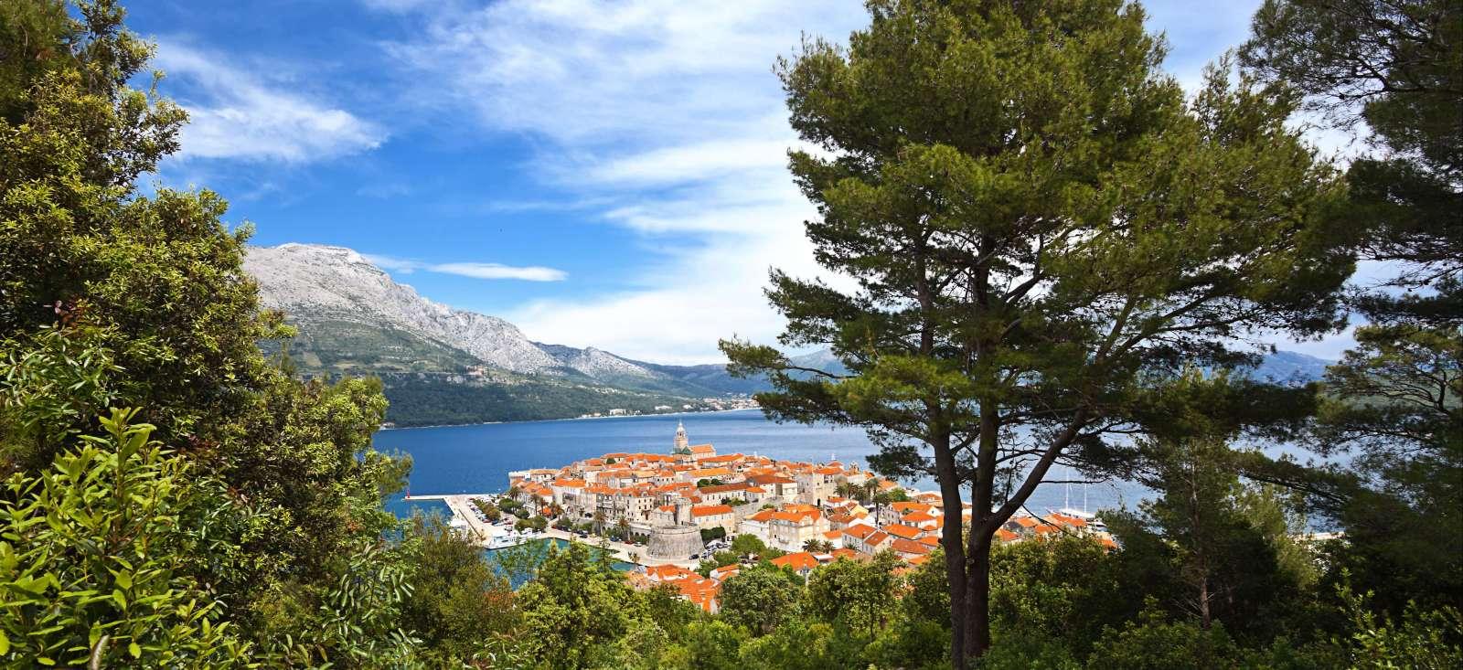Voyage à pied : Le meilleur de la Dalmatie !
