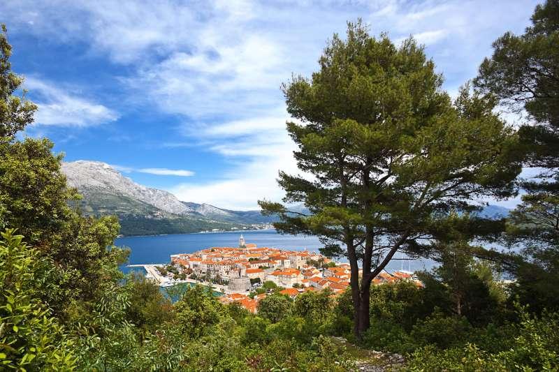 Voyage à pied : Croatie : Le meilleur de la Dalmatie !