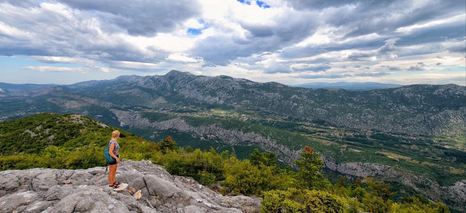 Voyage à pied : Croatie : Massif du Velebit et île de Pag