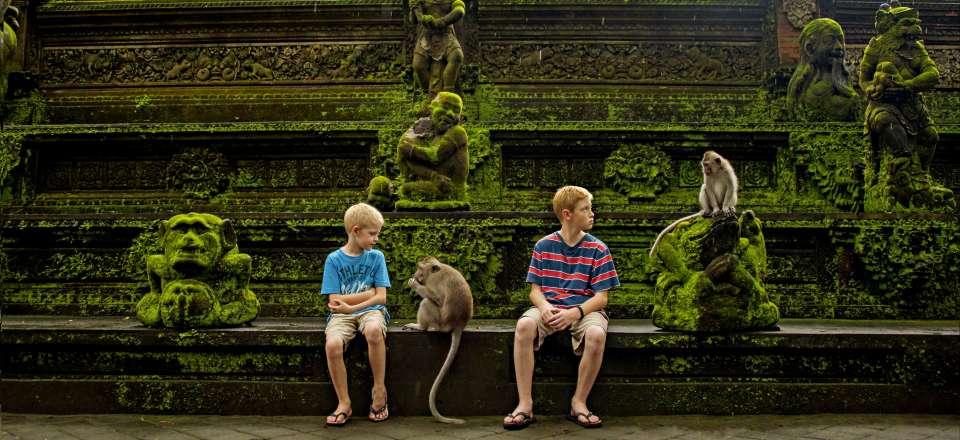 Aventure En Famille à Bali Entre Plage, Forêt Sacrée Du0027Ubud, Mont Batur