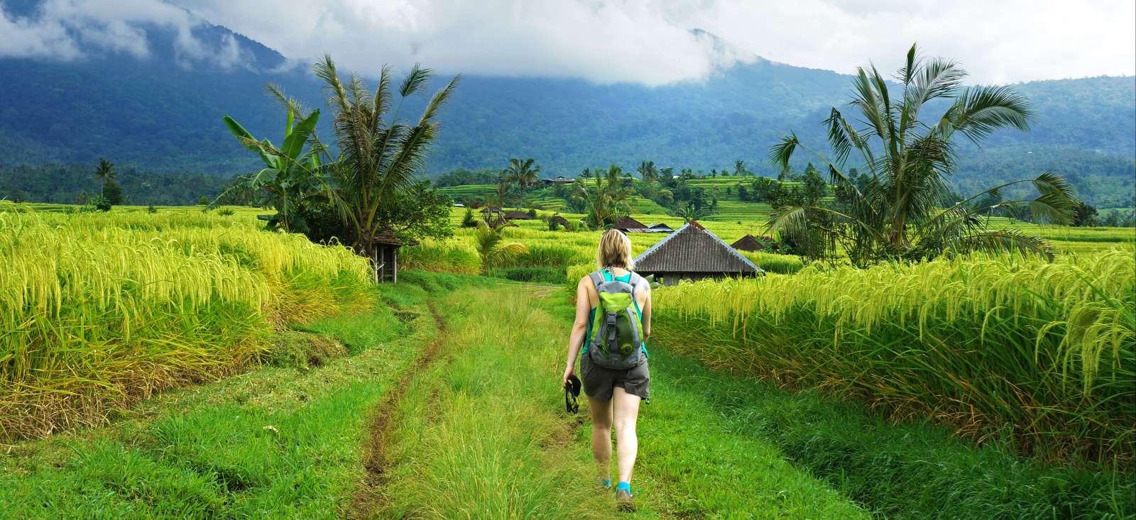 Voyage à pied : Randos Balinaises