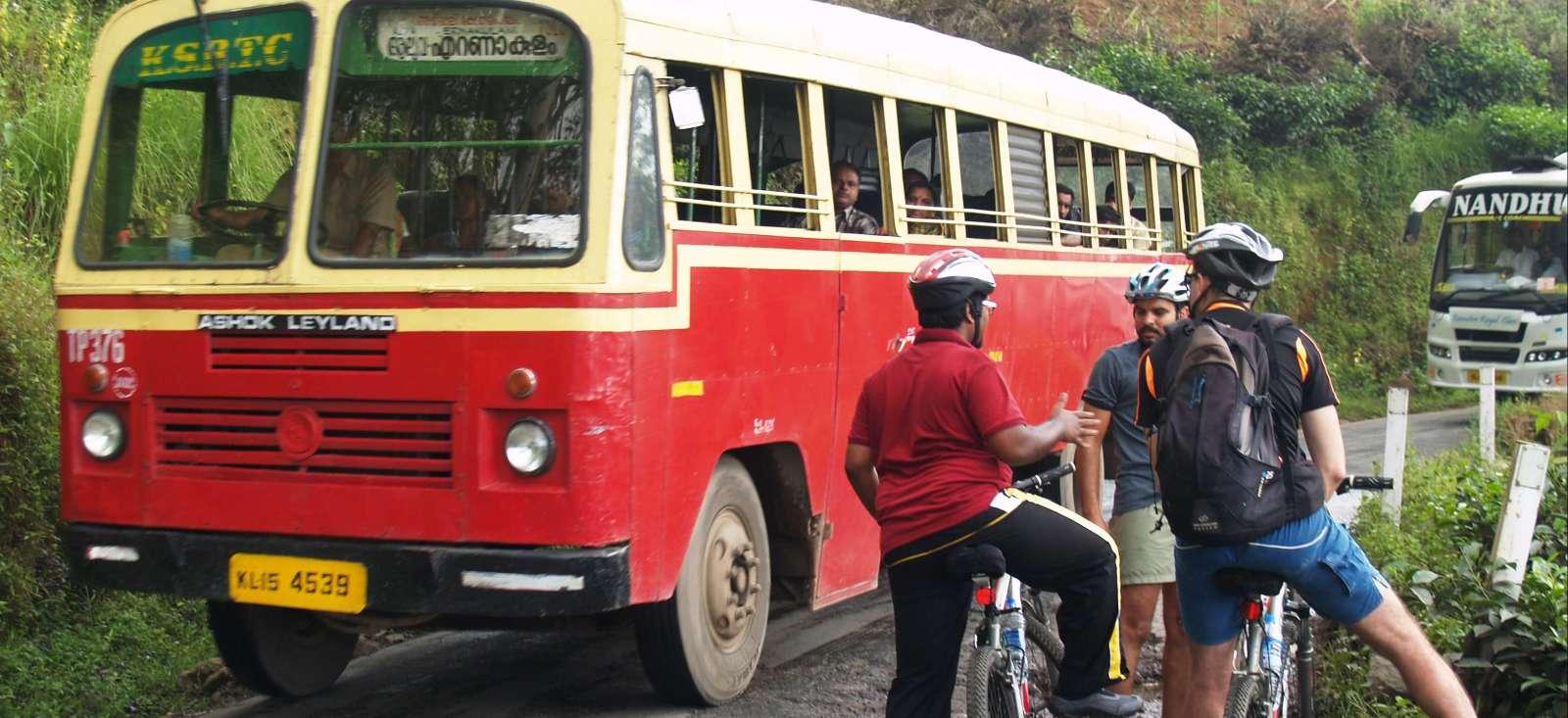 Voyage en véhicule : Belle échappée au Kerala (VTT)