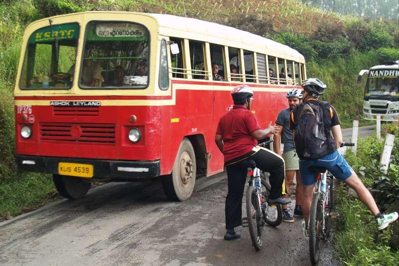 Voyage à pied : Belle échappée au Kerala (VTT)