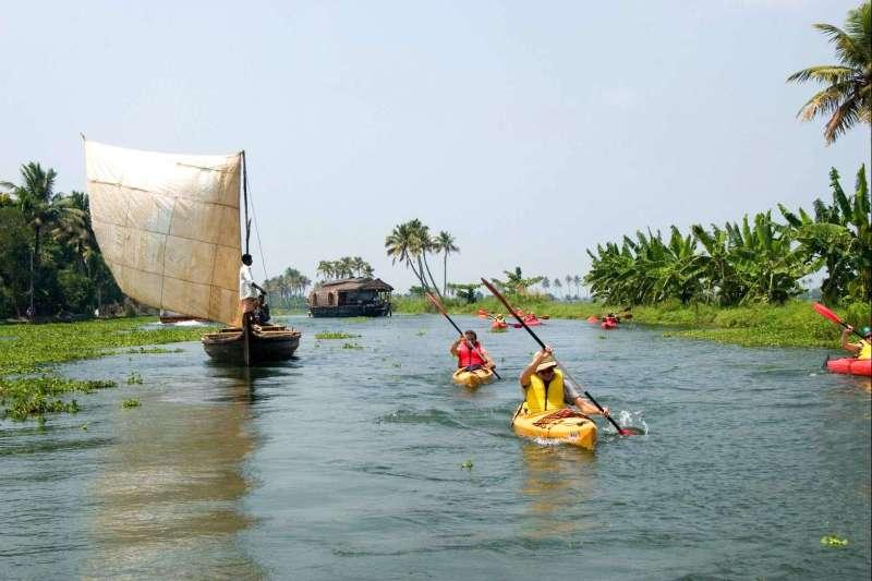 Voyage à pied : Le Kerala à pied, en vélo et sur l\'eau !