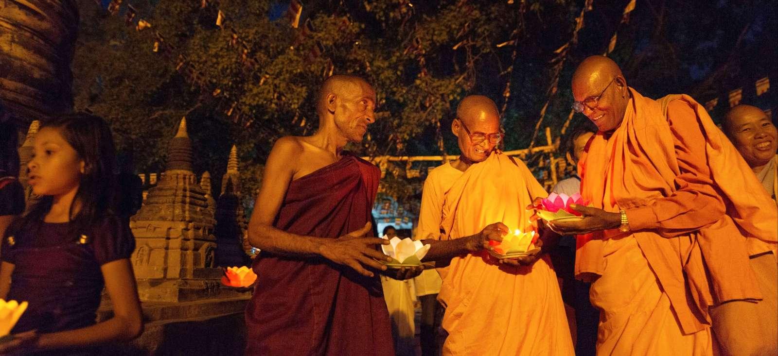 Voyage à pied Inde : Spiritualité et sites sacrés du bouddhisme