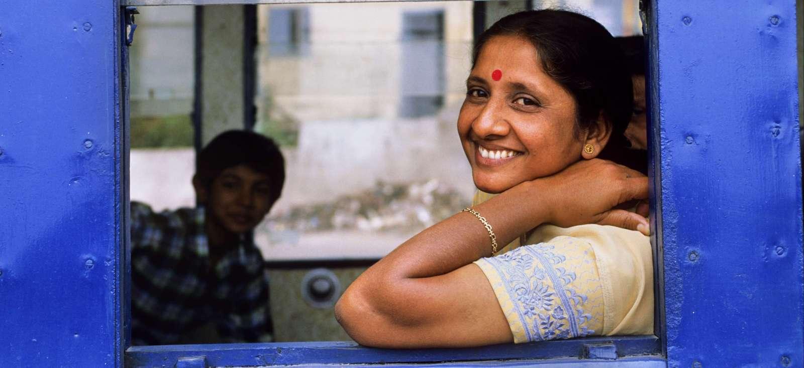 Voyage en véhicule : Train de vie au pays de Ghandi