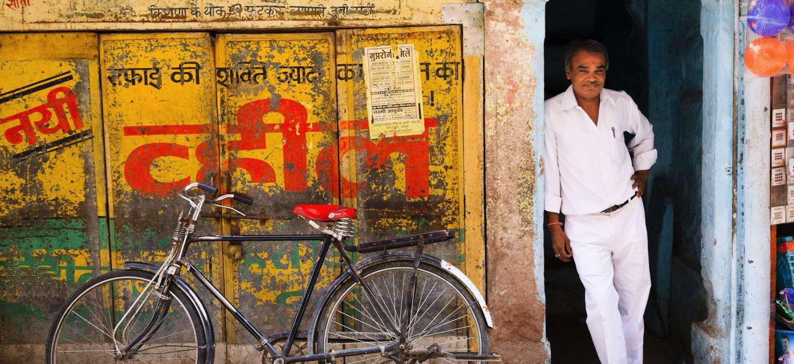Voyage à pied : Au coeur du Rajasthan