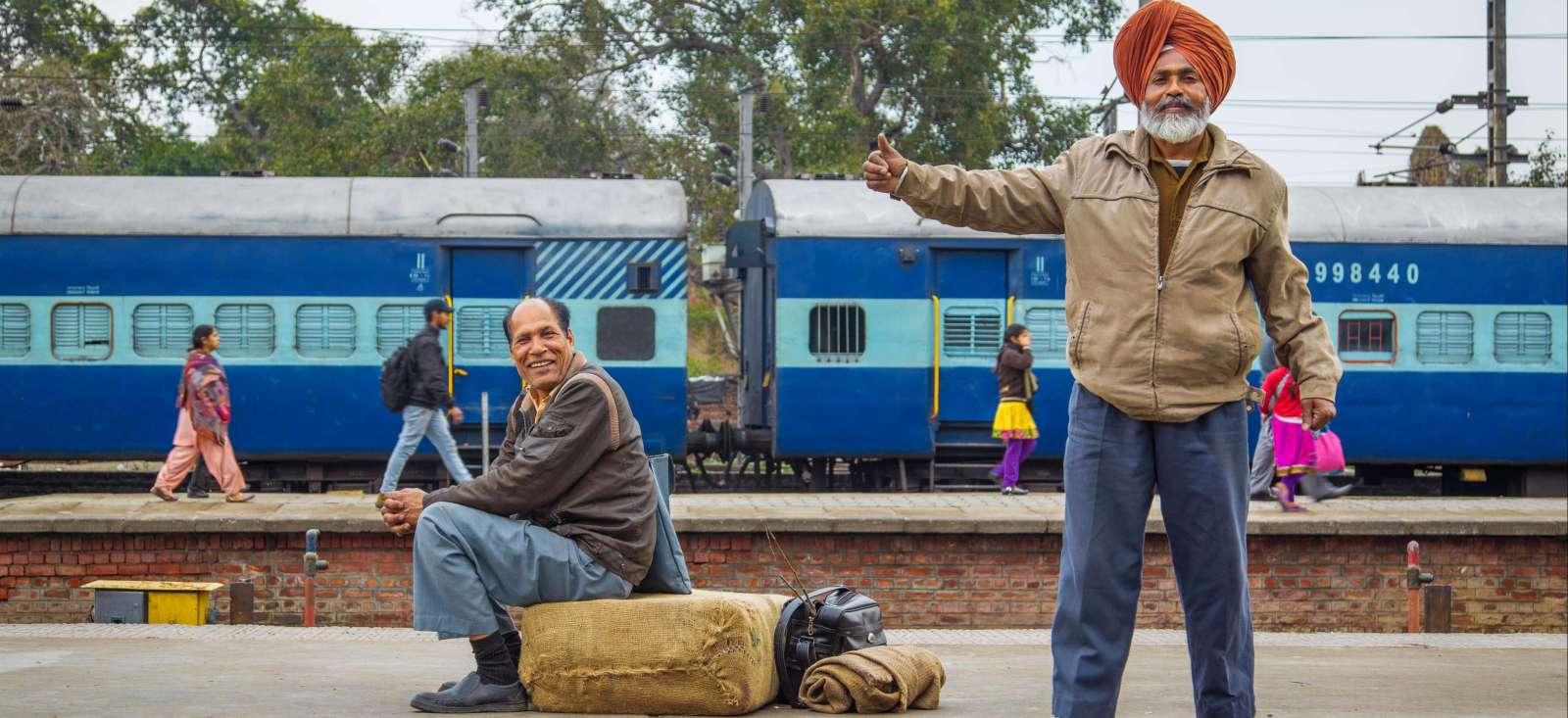 Voyage à pied : Temple d\'or et Gange sacré