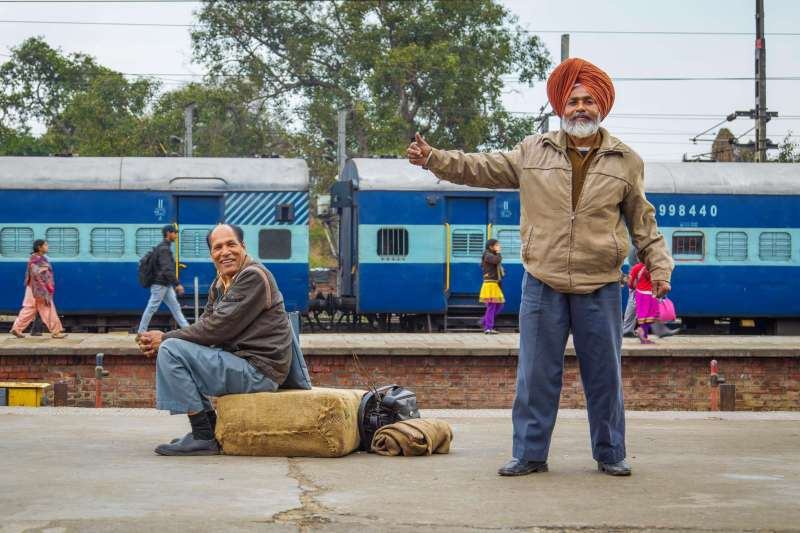 Image Un train de star pour Amritsar