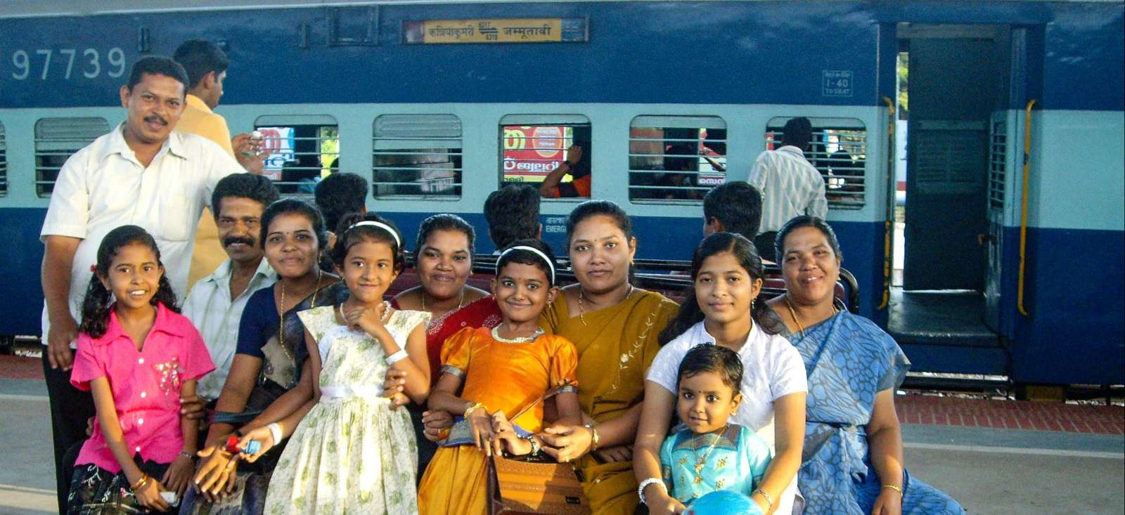 Voyage en véhicule : L\'Inde dans les grandes lignes