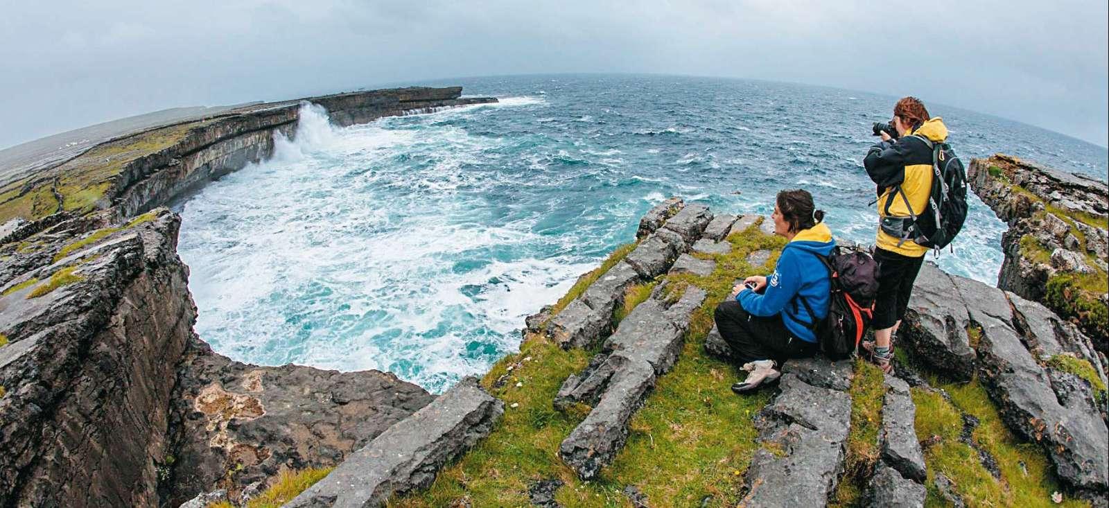Voyage à pied : L\'Irish Déclic