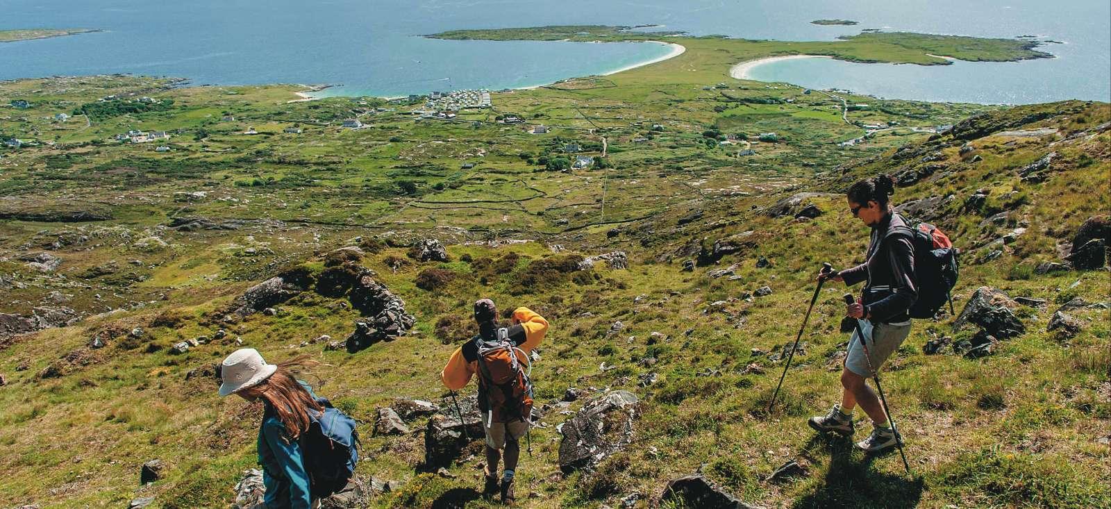 Voyage à pied Irlande : Connemara et Iles Atlantiques