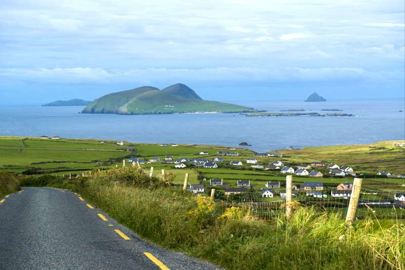 Image De la péninsule de Dingle aux îles Skellig