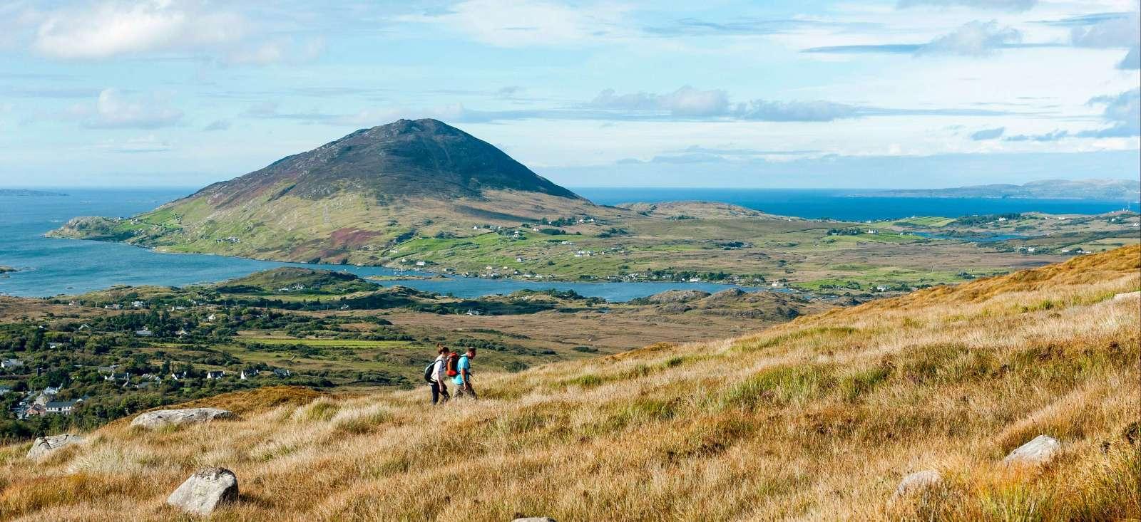 Voyage à pied : Connemara et Iles Atlantiques