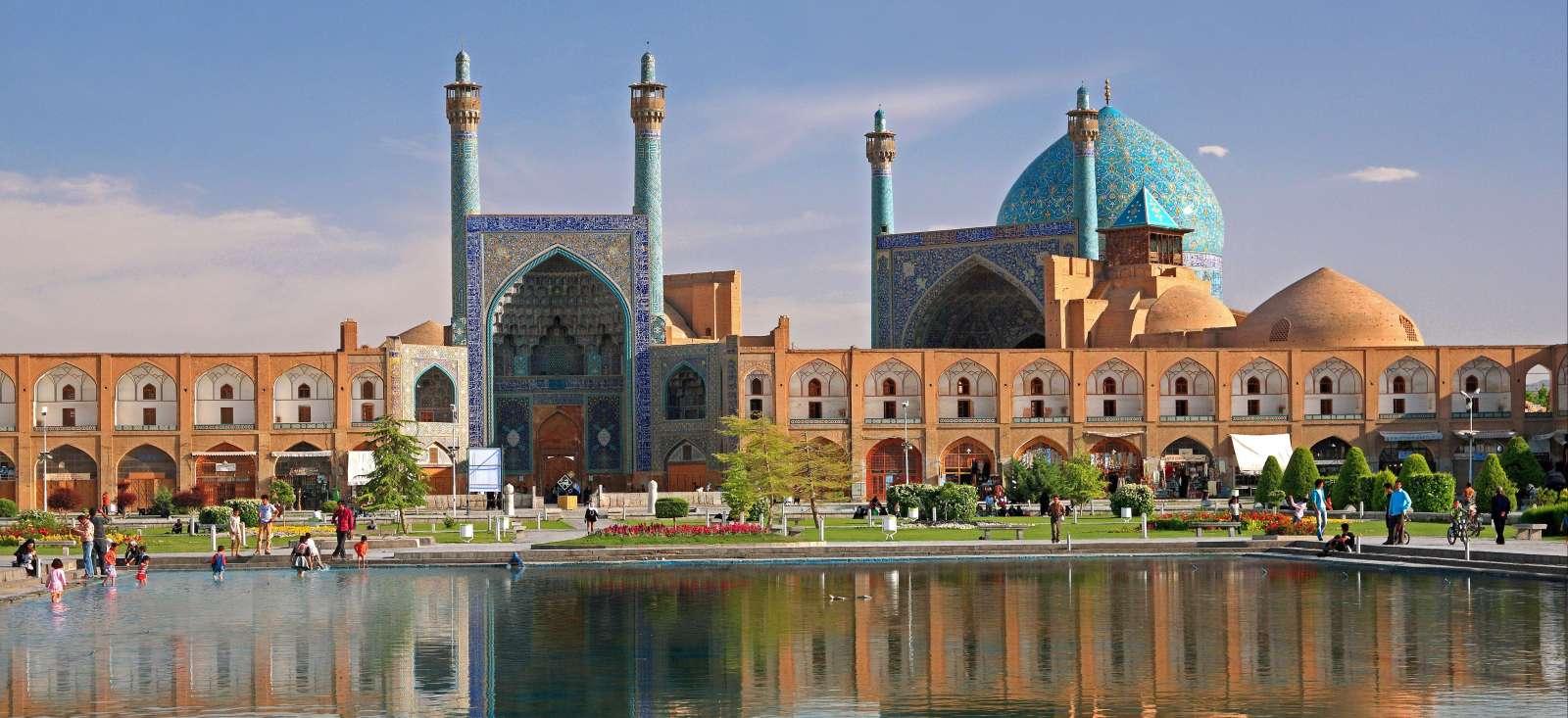 Voyage à pied : Escapade persane