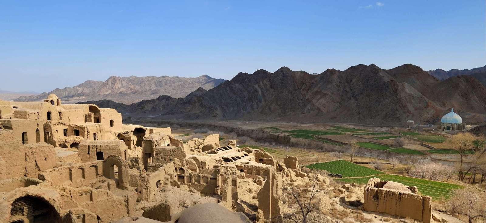 Voyage à pied : Iran, Arménie: les berceaux des civilisations