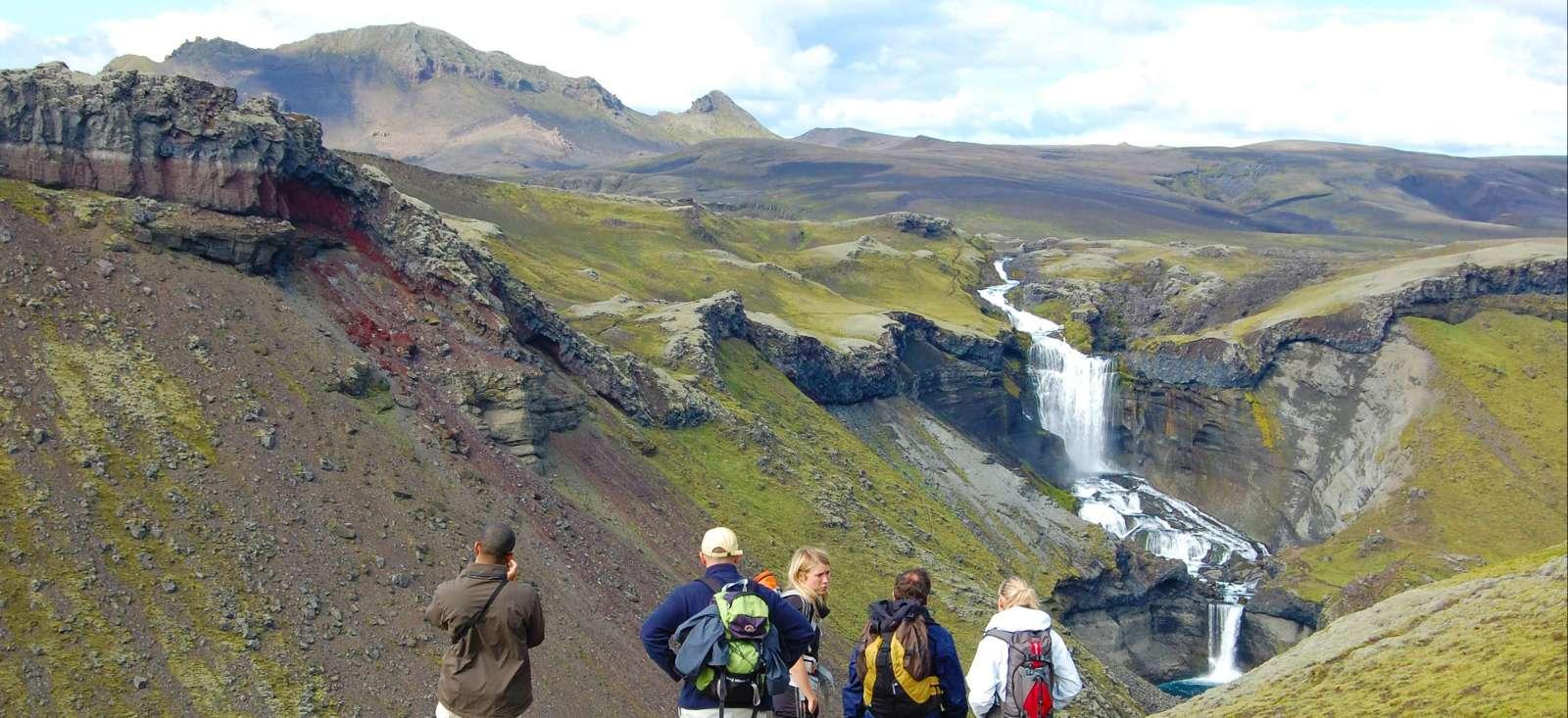 Voyage à pied : Le multiactivité islandais