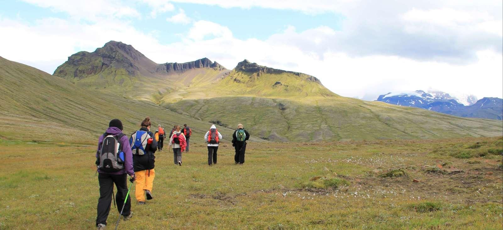 Voyage à pied : Le tour de l\'Islande