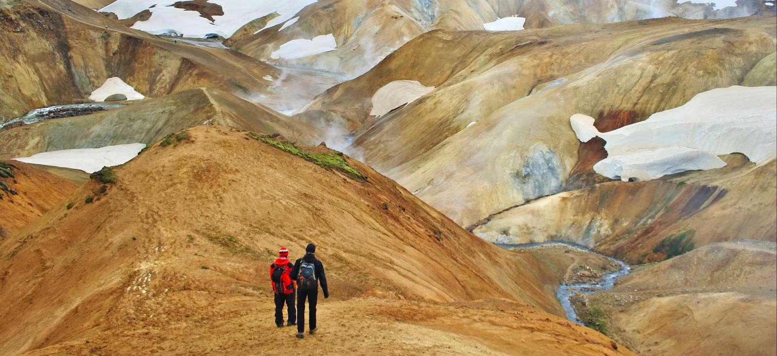 Voyage à pied : Islande : La saga islandaise