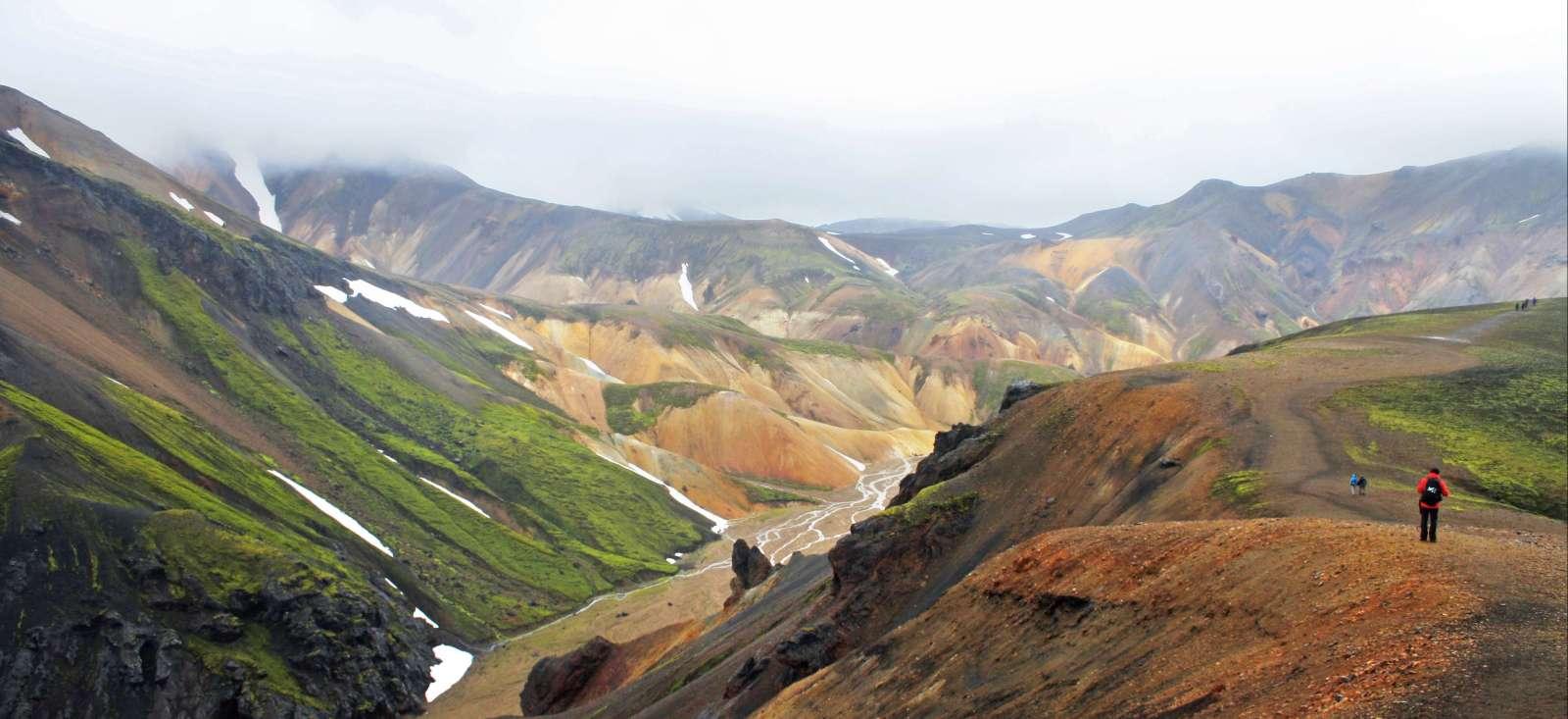 Voyage à pied : Mille paysages d\'Islande