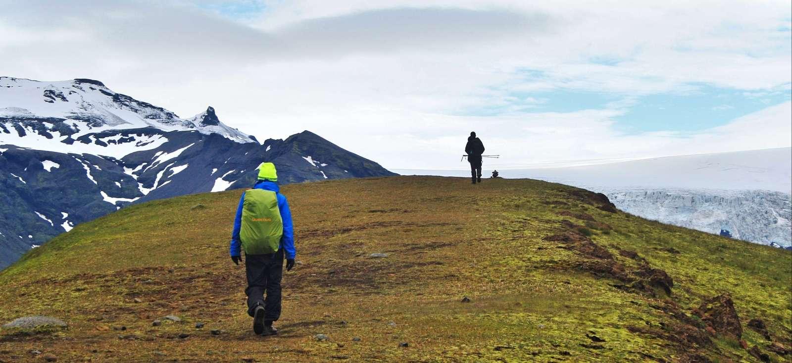 Voyage à pied Islande : Déserts et glaciers du Sud