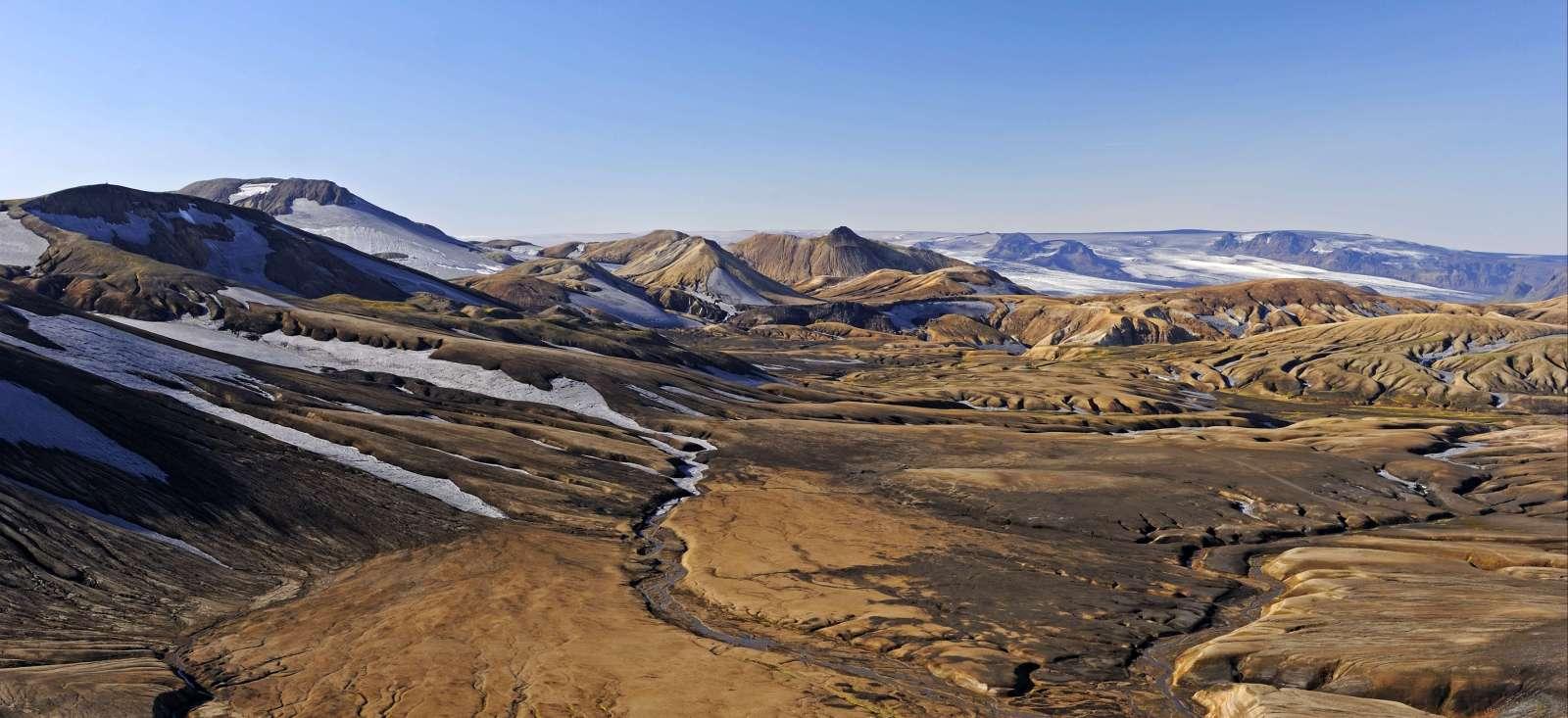 Voyage à pied : Entre l\'Hekla et l\'océan