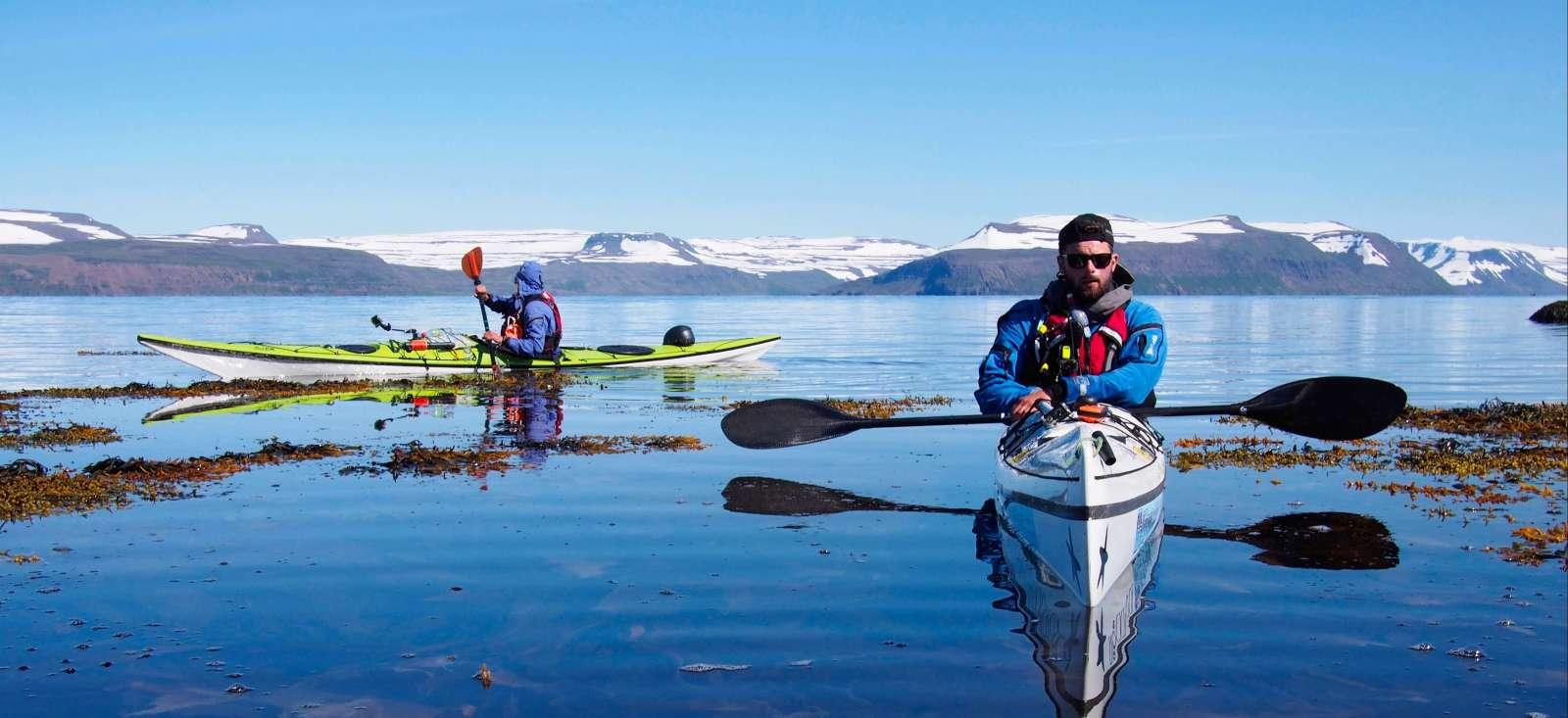 Voyage sur l'eau Islande : Hornstrandir, la péninsule du bout du monde..