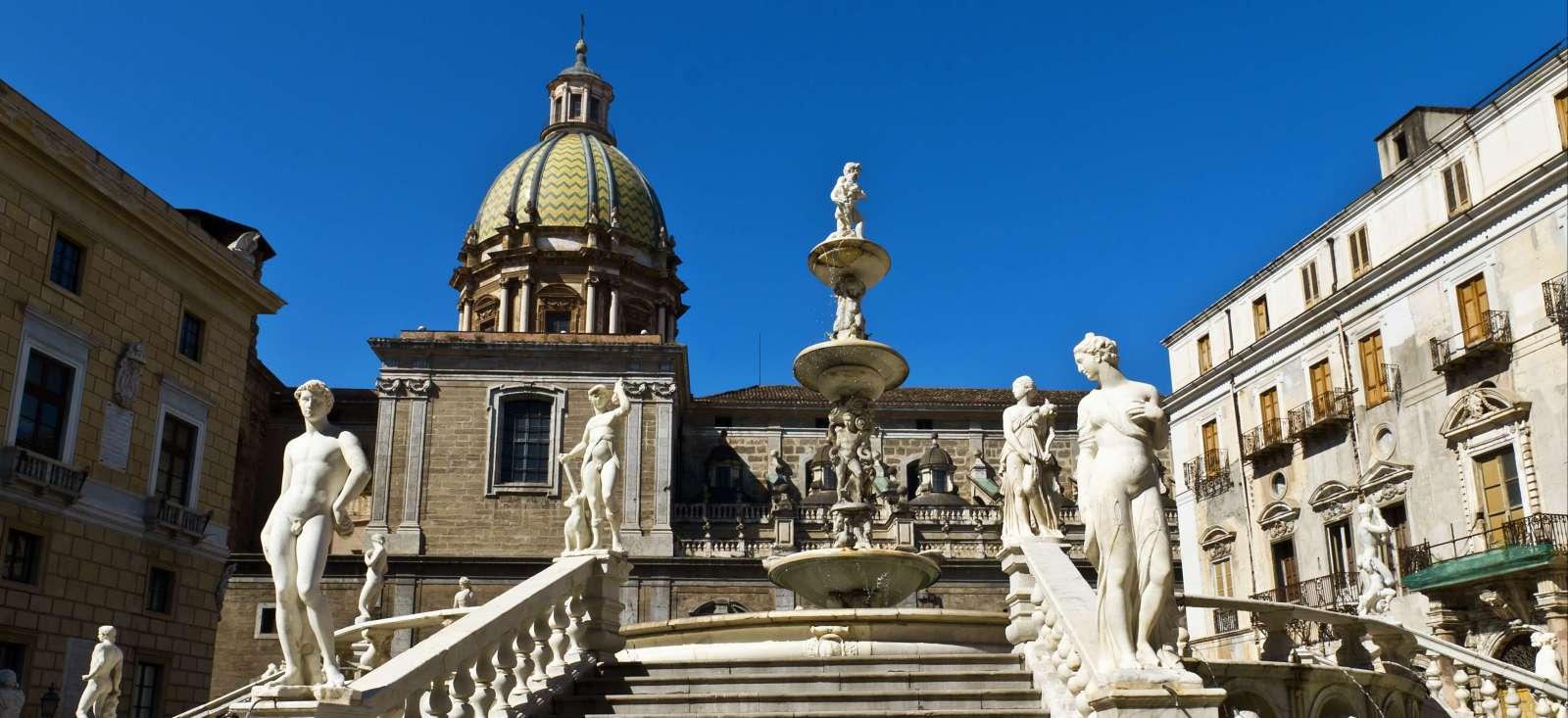 Voyage à pied Italie : A l\'ouest sicilien, que du nouveau!