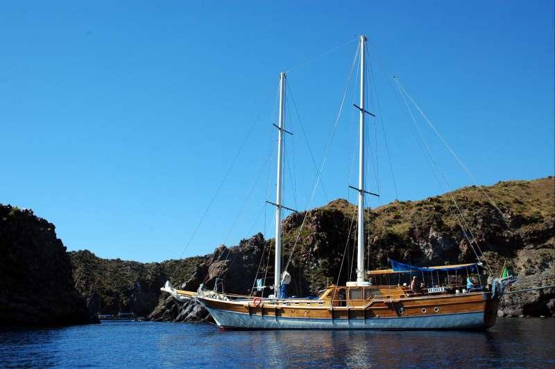 Voyage à pied : Les iles éoliennes au gré du vent