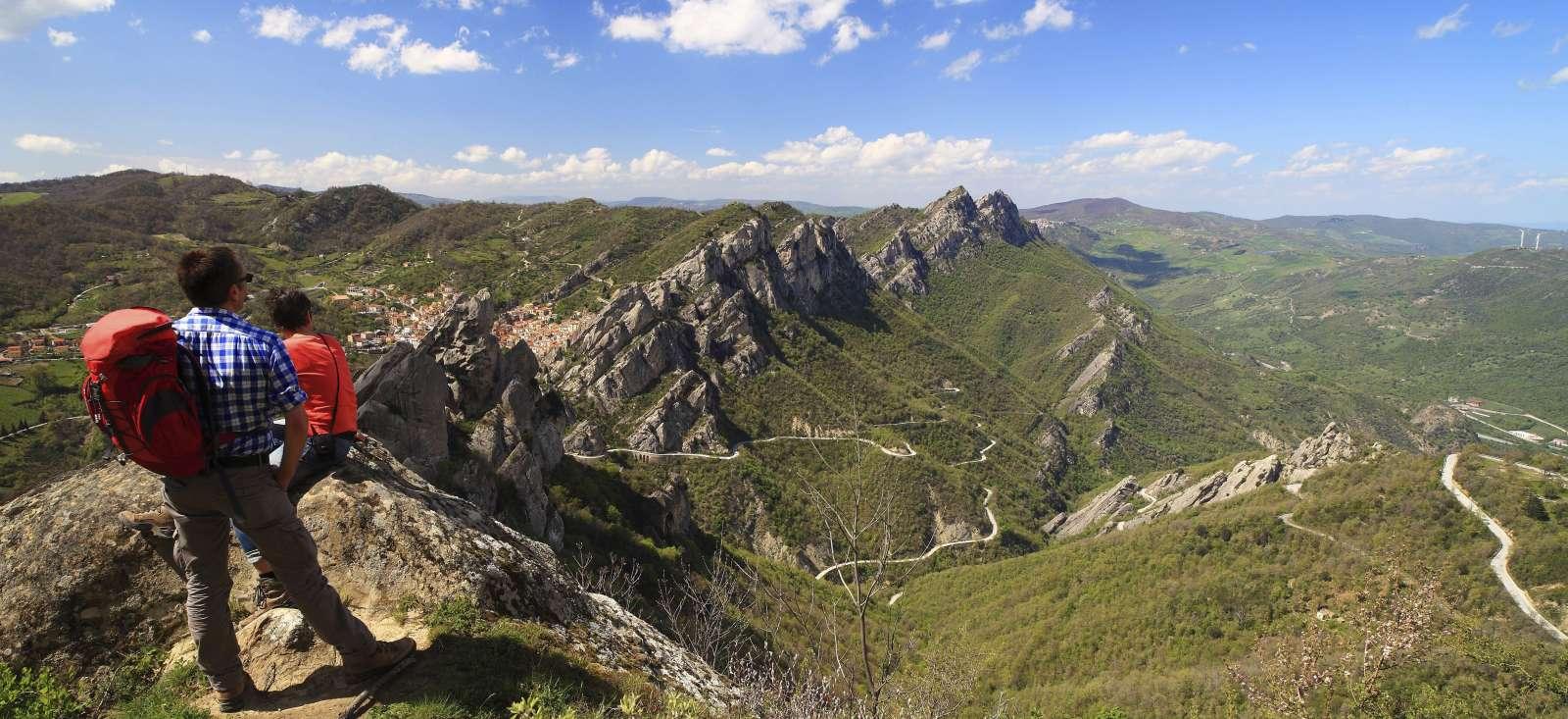 Voyage à pied : Italie : Trésors naturels et culturels de Basilicate