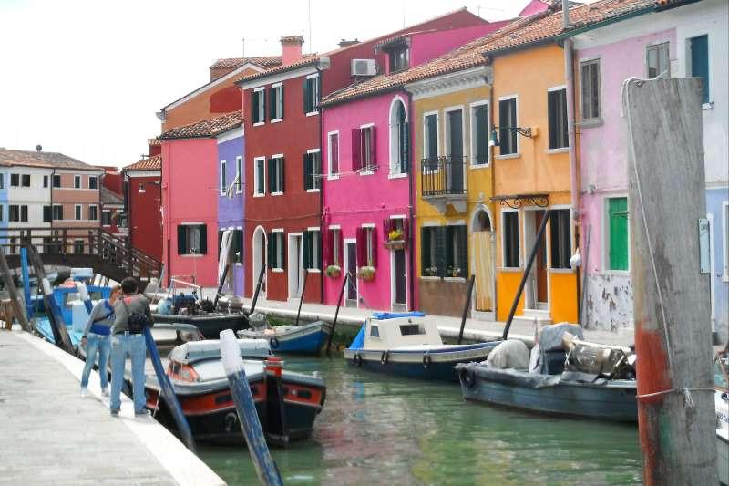 Image Laisse les gondoles à Venise ...